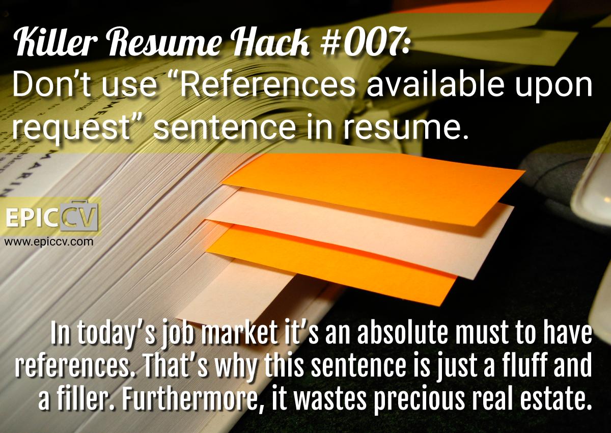 Killer Resume Hacks